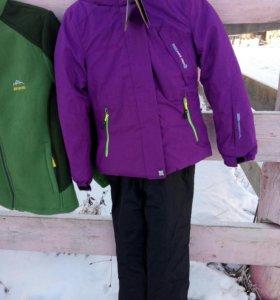 куртка с комбинезоном на девочку 8 лет