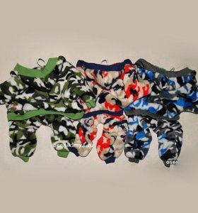 одежда теплые плюшевые костюмчики для собак