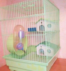 Клетка для хомяка и других маленьких грызунов