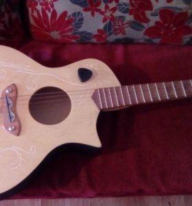 Продам электроакустическую гитару (Отл Состояние)
