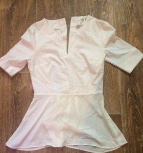 Блузка удлинённая, стильная