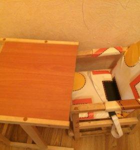 Детский стульчик и столик