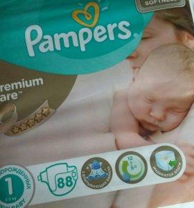 Детские подгузники Pampers 1