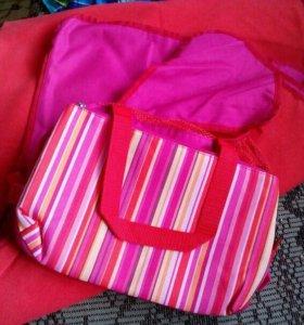 Сумка-коврик для пикника