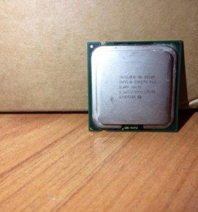 Intel core 2 duo 2.66 GHZ slap maly E8200
