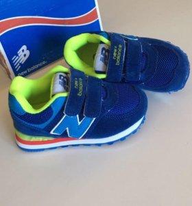 Новые кроссовки New balance 20-25 размер