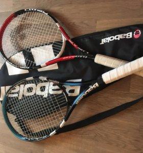 Ракетка babolat, head теннисная