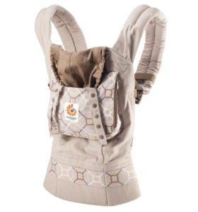 Рюкзак - переноска Ergo Baby Organic Латук