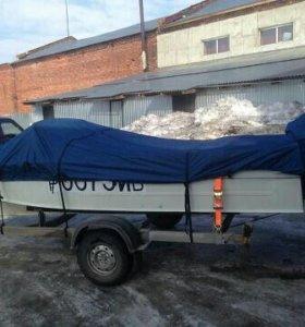 Тент транспортировочный для катера Прогресс
