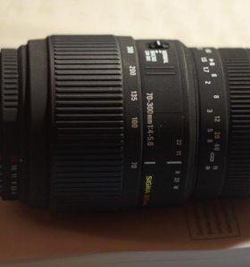 Sigma 70-300 Nikon