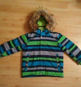 Куртка на мальчика 4-6 лет зима