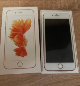 iPhone 6s 16gb Rose gold как новый