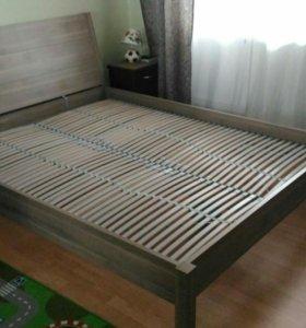 Каркас кровати с реечным дном 160х200
