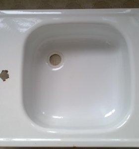 мойка для кухни белая эмаль