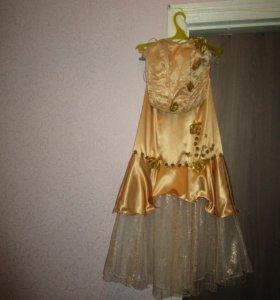 Платье вечернее-выпускное.