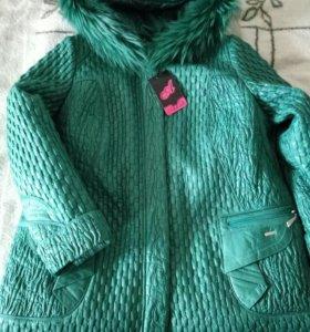 Новая куртка зимняя, 58-60