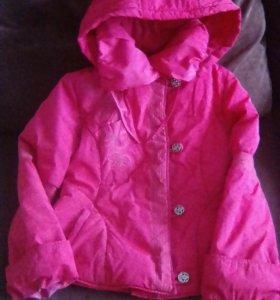 Куртки для девочки 7-9 лет