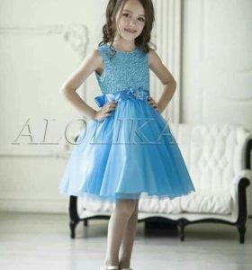 Нарядное платье 122