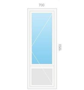 Балконные двери металлопластиковые