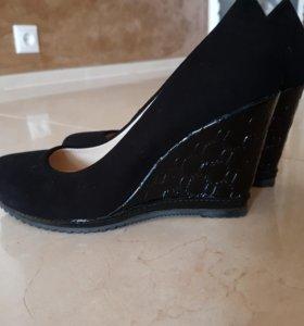 Туфли из замши 36 размер