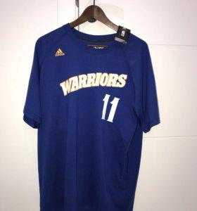 Новая Футболка NBA Warriors Klay Thompson XL