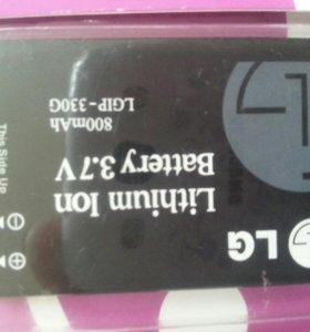АКБ на телефон LG . Модель акб LGIP-330 G