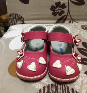 Туфли для девочки р.21
