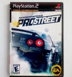 Need for Speed prostreet для PlayStation 2