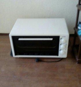 Печка и телевизор