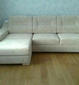 Новый комплект мебели ПУШЕ (диван и 2 кресла)