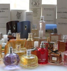 Оригинальная парфюмерия, тестер оригинал 50-100мл