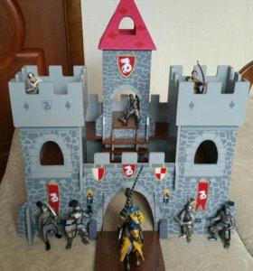 Рыцарский замок+рыцари