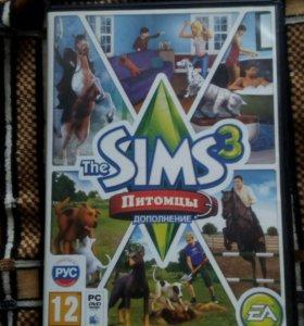 Sims 3 дополнение питомцы
