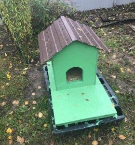 Будка домик для собаки