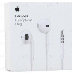 Наушники Apple EarPods белые