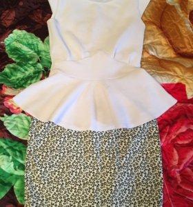 Юбка и блуза