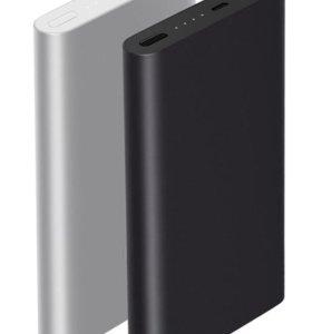 Новый Xiaomi Mi Power Bank 2 10000 mAh (Silver)