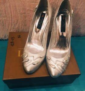 Кожанные туфли