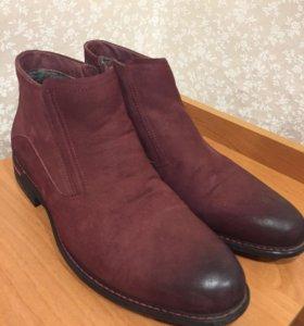 Ботинки мужские зимние натуральные р. 42