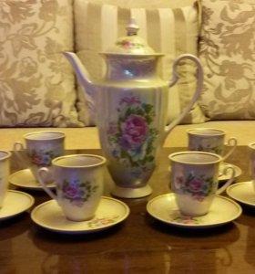 Кофейный сервиз и чайный набор