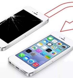 Замена дисплея iPhone HTC asus