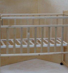 кроватка колесо-качалка АРИША 1