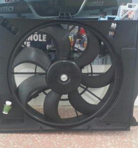 Диффузор в сборе Kia Rio Solaris