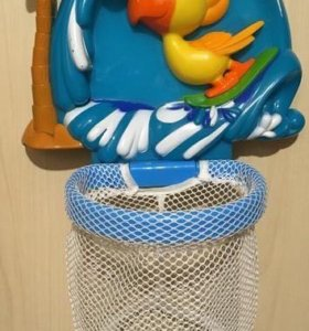"""Новая игрушка для ванной """"Баскетбол"""""""