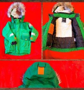 Зимний костюм 3-4 года