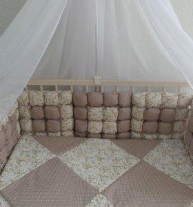 Комплект в кроватку БОНБОН