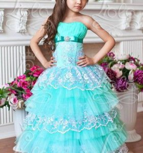 Нарядное бальное платье новое