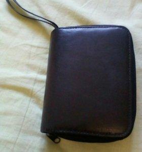 Органайзер кошелёк кожаный