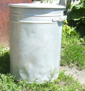 Бак алюминиевый 75 литров
