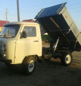 Доставка грузов на автомобиле уаз самосвал